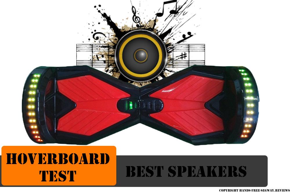 Hoverboard speaker test