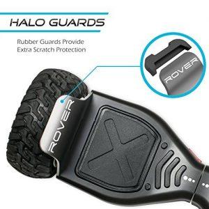 Halo rover bumper guards for rough terrain driving