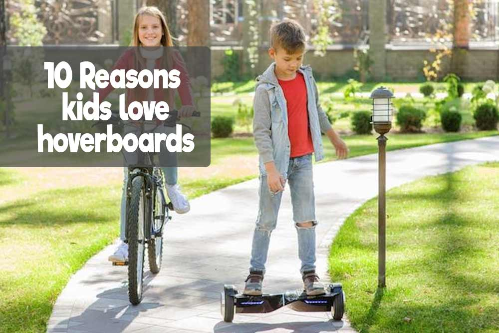 This is how you know your kids going to love getting a hoverboard