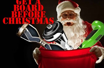 Get a hoverboard deal and get it shipped before Christmas 2017